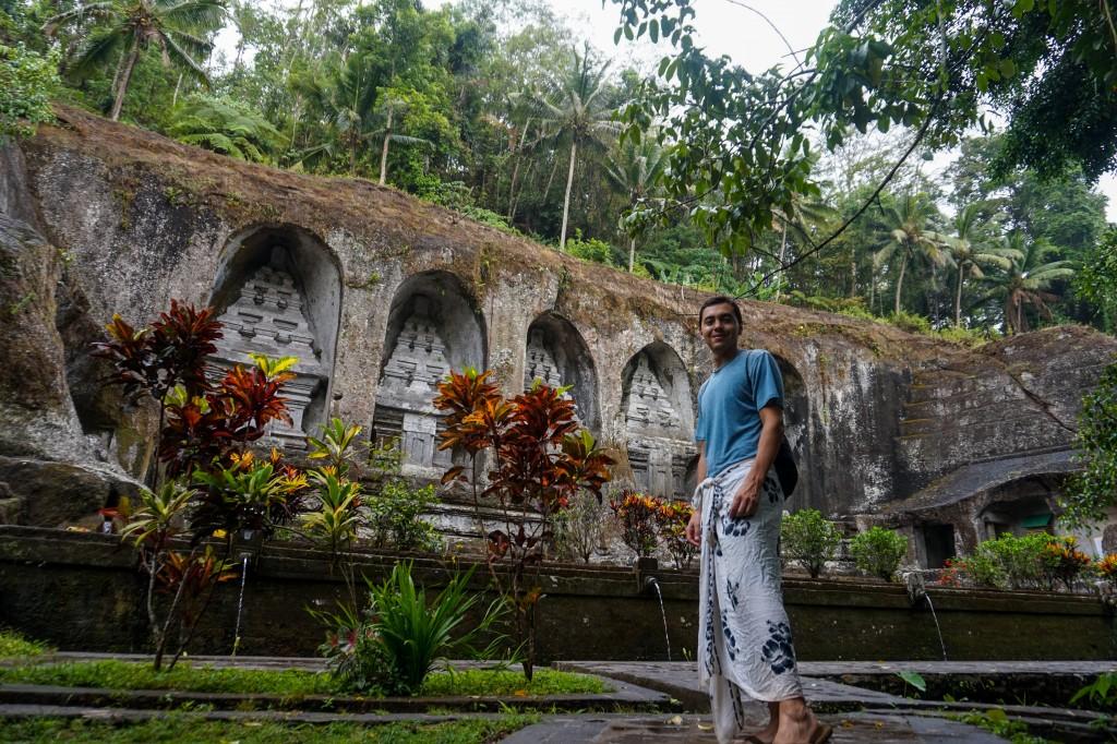 Mount Kawi temple in Bali, Indonesia