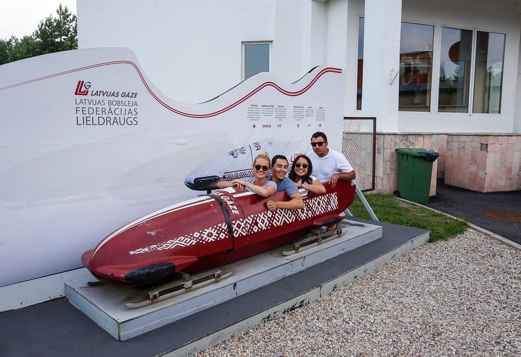 Summer Bobsleigh Sigulda Latvia