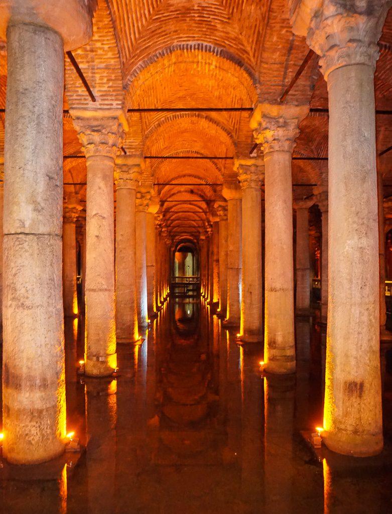 Basilica Cistern Istanbul Turkey