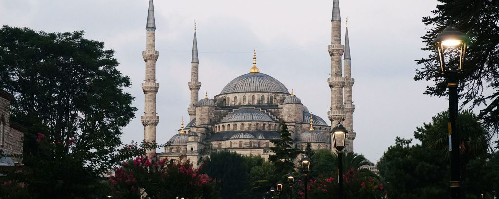 Blue Mosque Istanbul in Turkey
