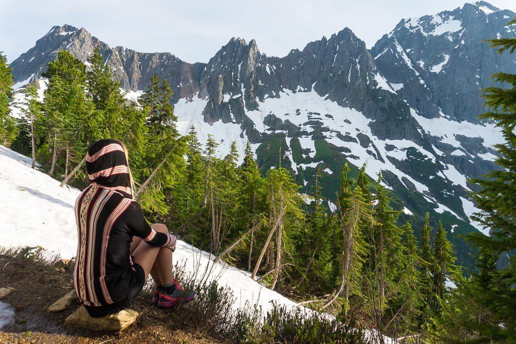 Cascade Pass Hike North Cascade National Park Washington