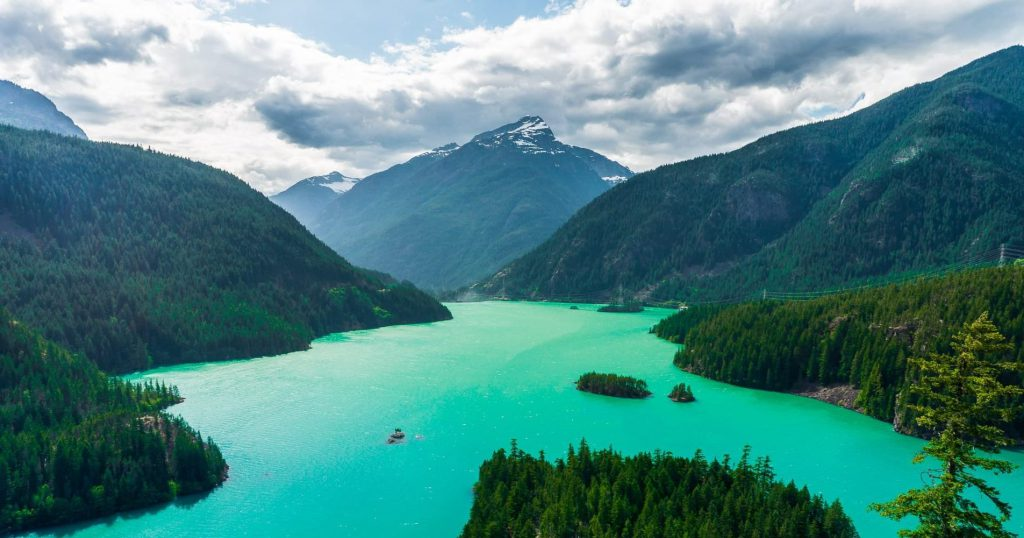 Diablo Lake North Cascade National Park