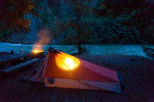 Gorge Lake Campground North Cascade National Park Washington