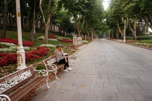 Gulhane Park Istanbul Turkey