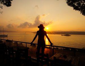 Gulhane Park Sunrise Istanbul Turkey