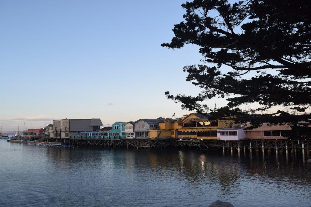 Monterey Bay in California