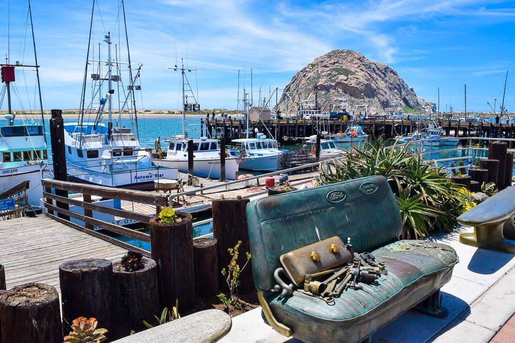 Morro Bay in California