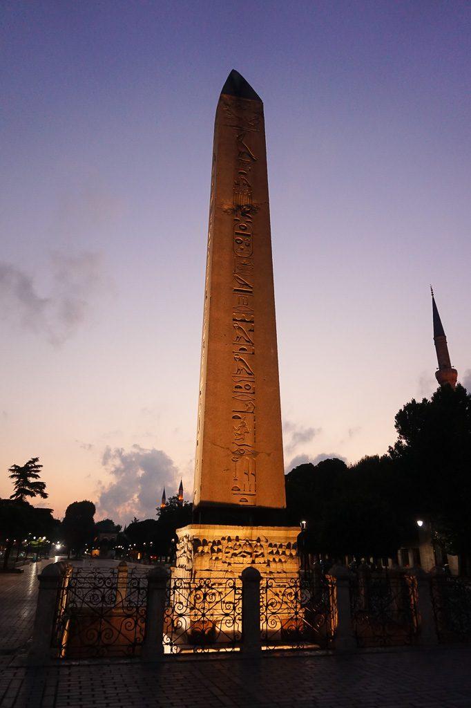 Obelisk of Theodosius Istanbul Turkey