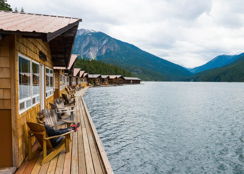 Ross Lake Resort Cabins in North Cascades National Park