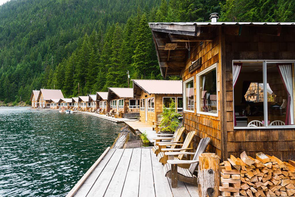 Ross Lake Resort North Cascade National Park