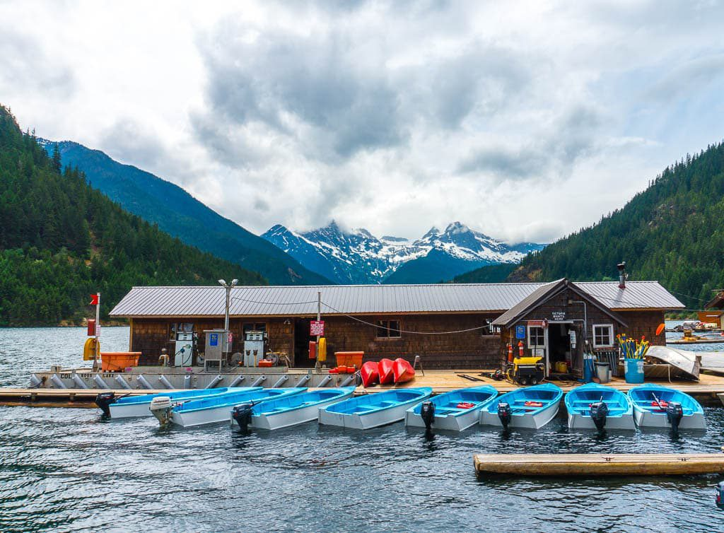 Ross Lake Resort Trail North Cascade National Park
