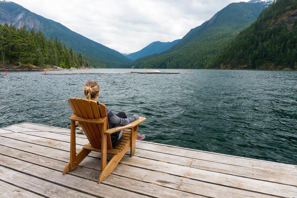 Ross Lake Resort at North Cascades National Park