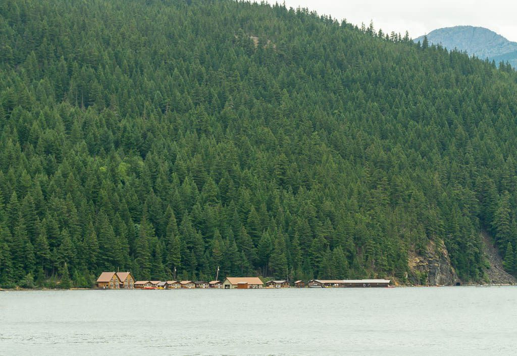 Ross Lake Resort from Ross Lake Dam