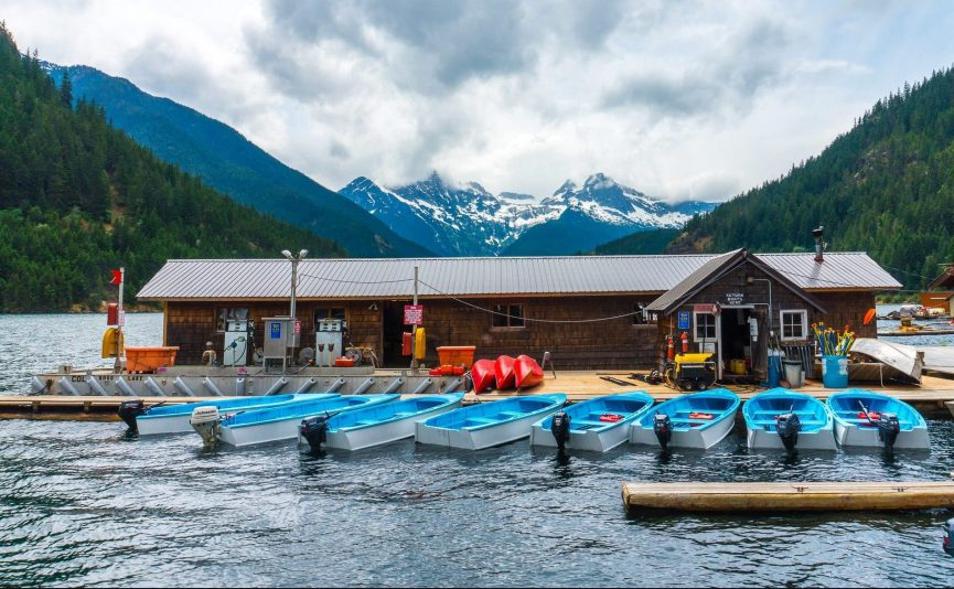 Ross Lake Resort in the North Cascades National Park