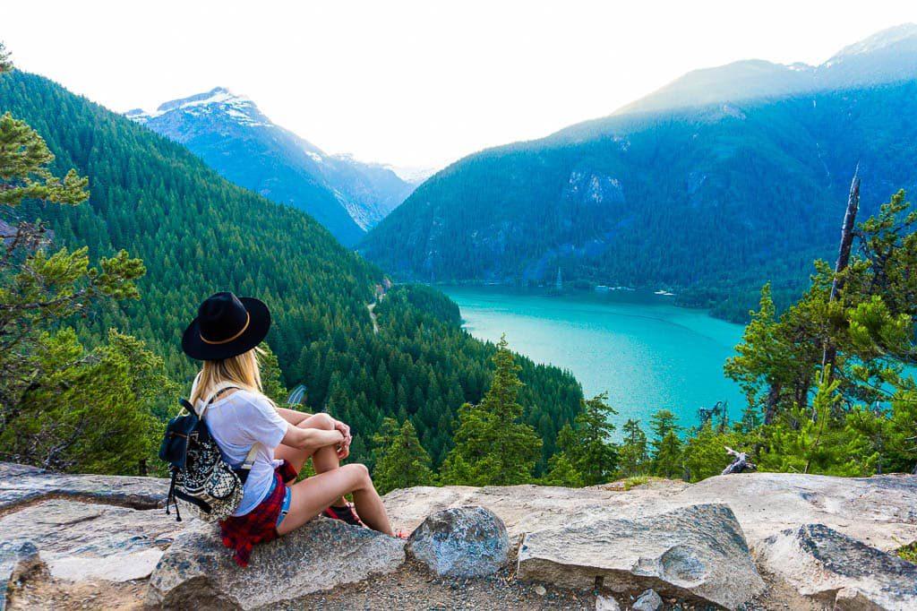 Thunder Knob Trail Diablo Lake North Cascade National Park