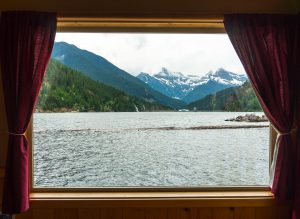 View from Ross Lake Resort North Cascades National Park