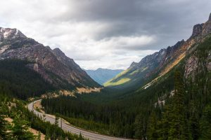 Washington Pass Overlook in North Cascades National Park