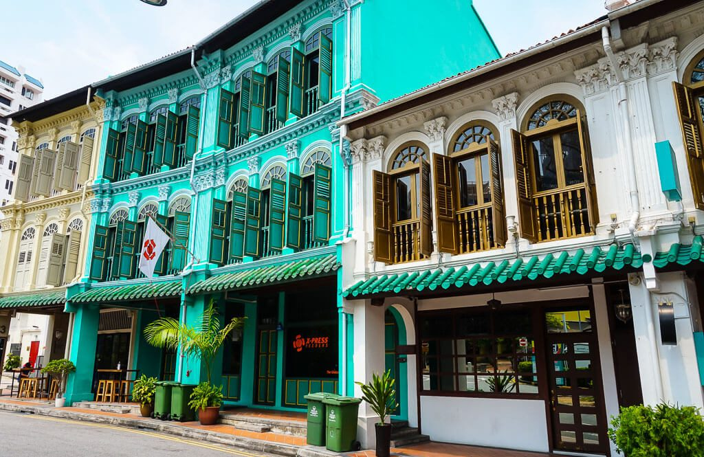 Colonial Style Buildings Singapore