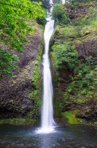 Horsetail Falls Historic Columbia River Highway Oregon