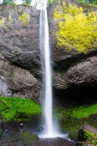 Latourell Falls Historic Columbia River Highway Oregon