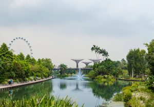 Marina Bay in Singapore Indonesia