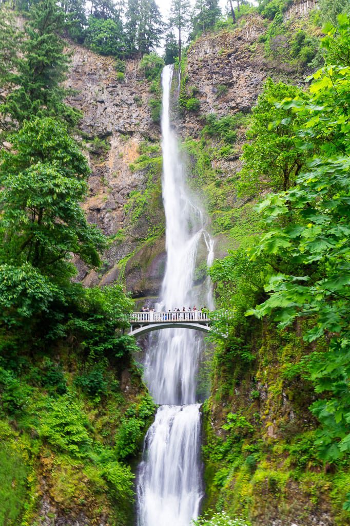 Multnomah Falls Historic Columbia River Highway Oregon