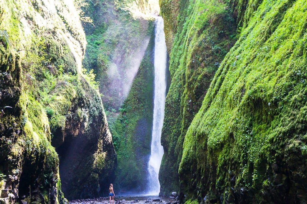 Oneonta Falls Oneonta Gorge Oregon