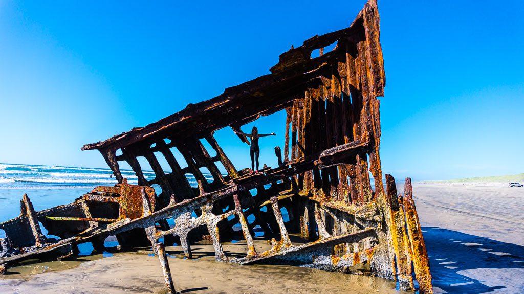 Peter Iredale Shipwreck Oregon Coast