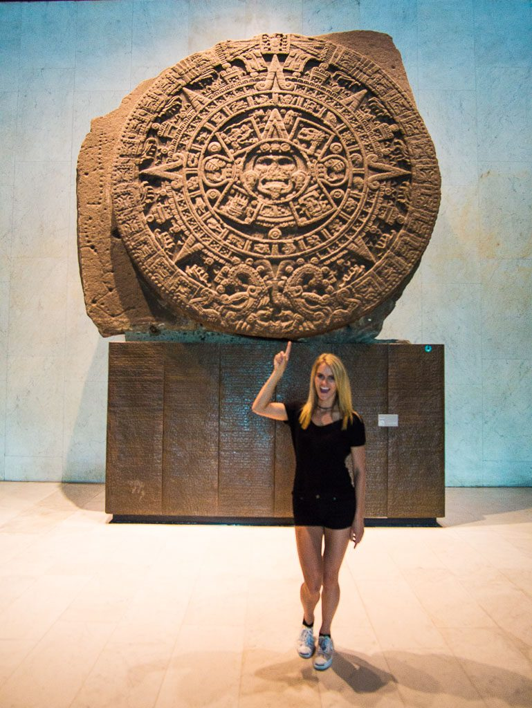 Anthropology museum - Museo Nacional de Antropologia - Mexico City