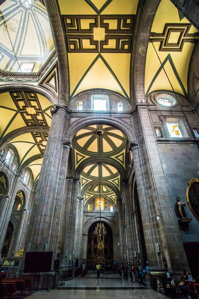 Metropolitan Cathedral in Catedral Metropolitana - Mexico City