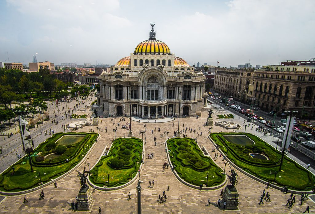 Palace of Fine Arts - Palacio de Bellas Artes - Mexico City