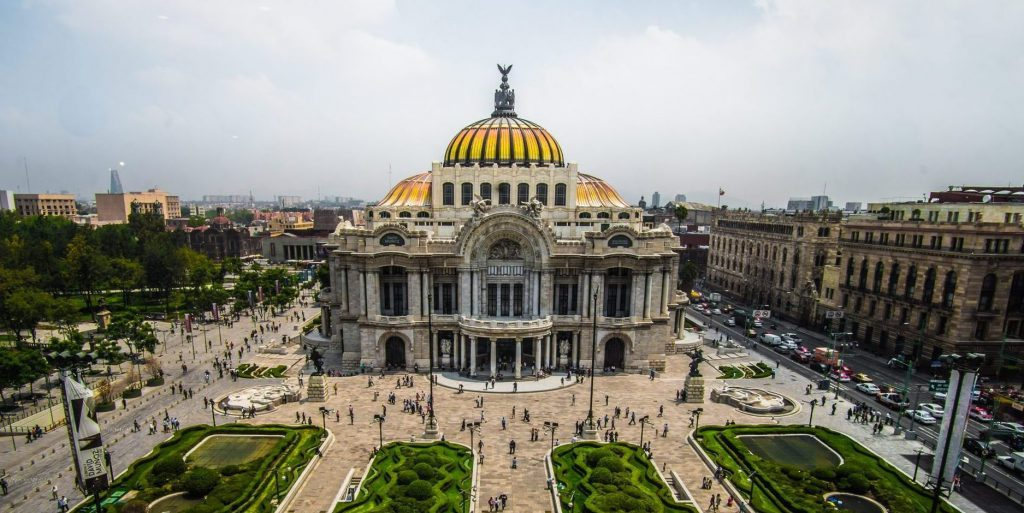 Palace of Fine Arts - Palacio de Bellas Artes - Mexico City Feature