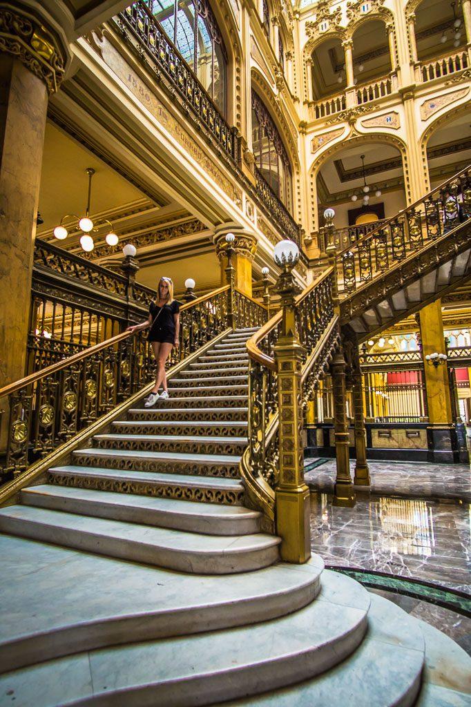 Postal Museum - Palacio de Correos de Mexico - Mexico City