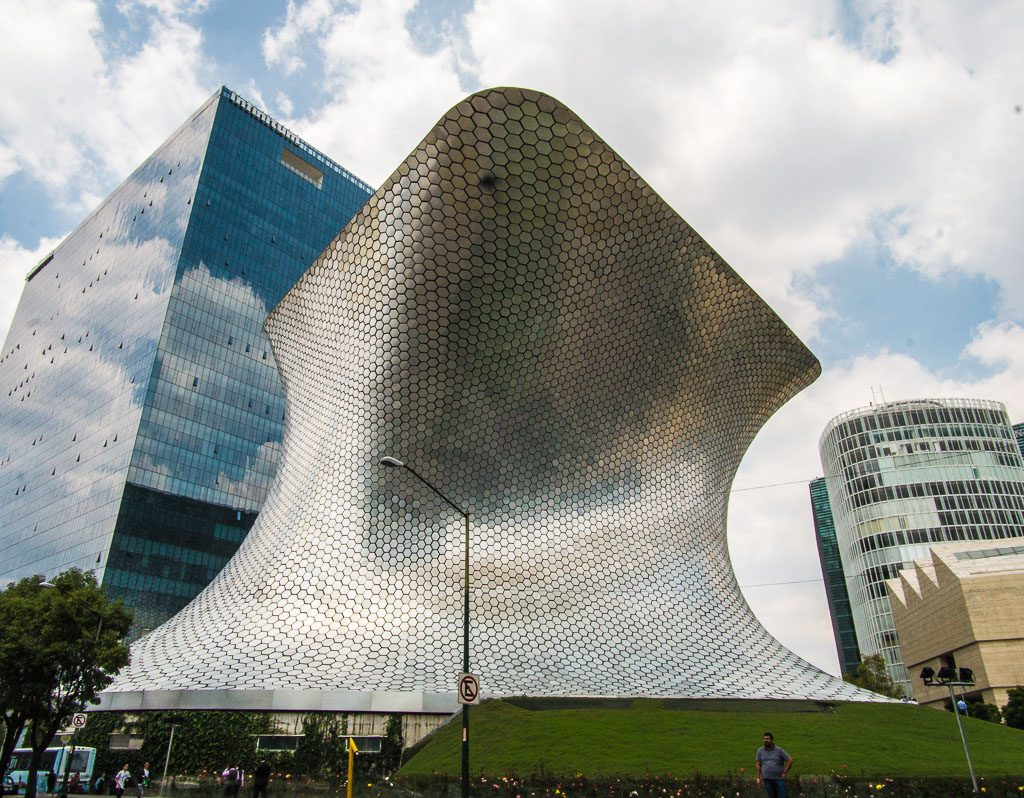 Soumaya Museum - Museo Soumaya - Mexico City