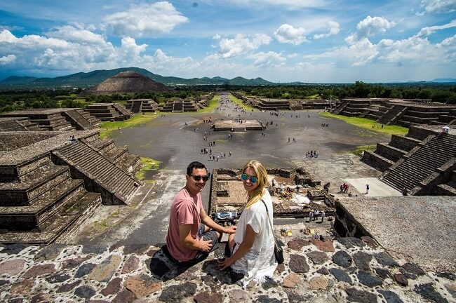 Teotihuacan Pyramid Mexico City