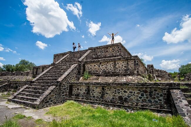 Teotihuacan Pyramids Avenue Of The Dead Mexico City