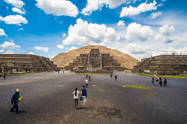 Teotihuacan Pyramids in Mexico City