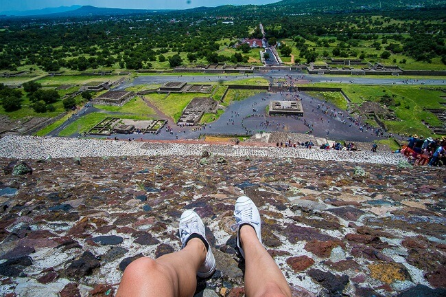 Teotihuacan Ruins Pyramid of the Sun Mexico City