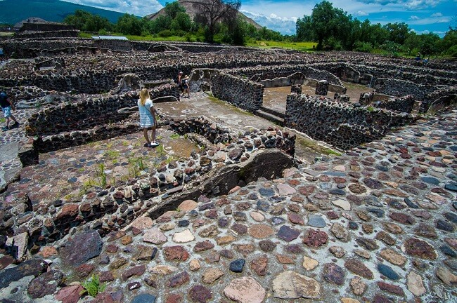 Teotihuacan Ruins in Mexico City