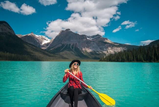 Best Lakes in Canada Emerald Lake Yoho National Park