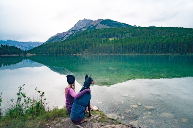 Best Lakes in Canada Two Jack Lake Banff National Park