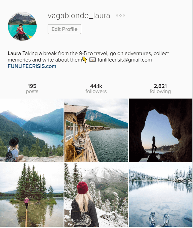 example-of-a-travel-account-on-instagram