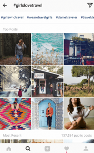 example-of-female-travel-hashtags-on-instagram