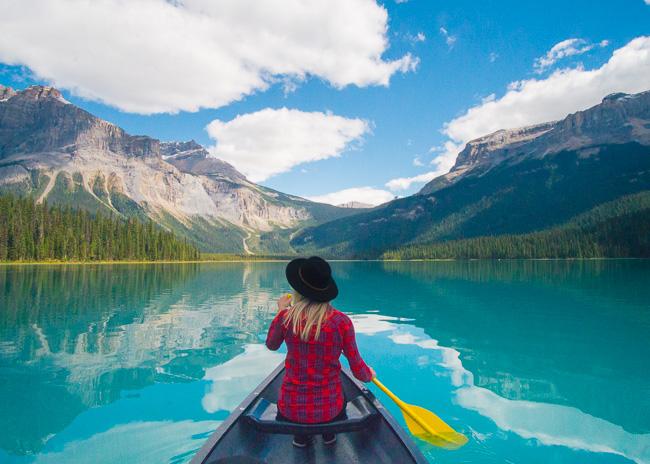 Emerald Lake Banff Canada
