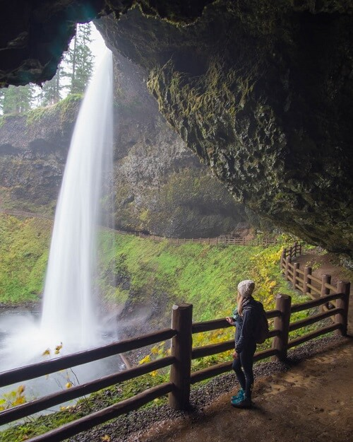 Silver Falls State Park Waterfall Hikes In Oregon
