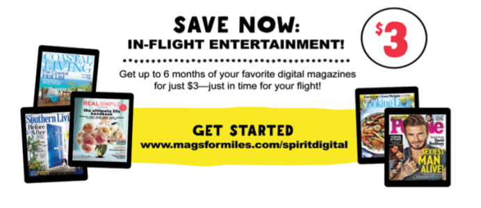 Flight Entertainment Spirit Airlines