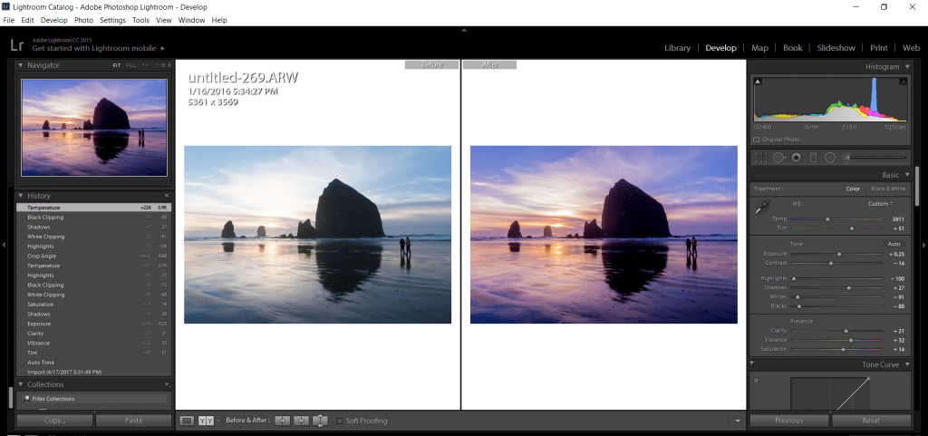 instagram tutorial lightroom editing