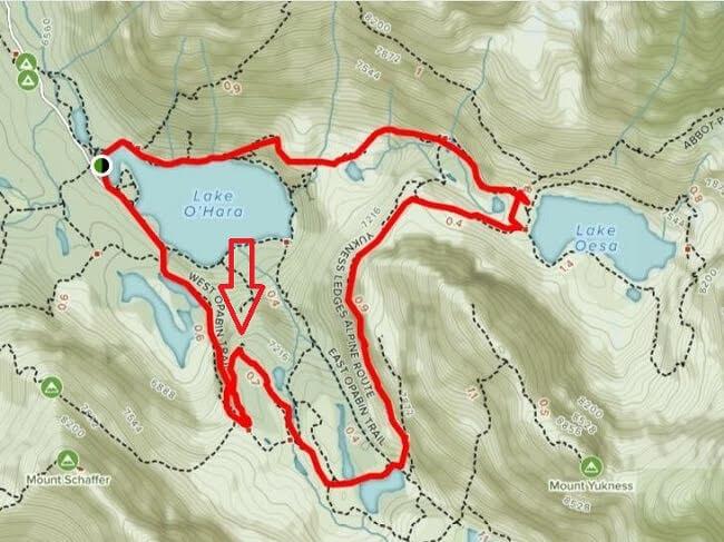 All Trails Lake Oesa Trail Opabin Viewpoint