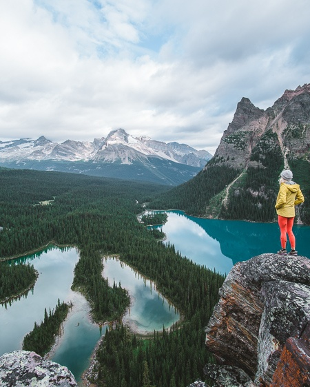 Lake O'hara Opabin Prospect Viewpoint from Instagram