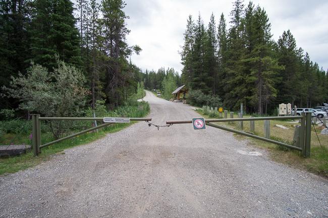 lake O'Hara access road